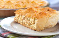 Phyllo chicken pie