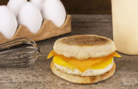 healthy and fast breakfast sandwich