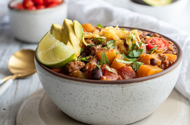 Fall, Healthy Recipes, Diet, Butternut Squash, Beef Chili