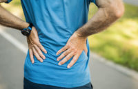 runner stopping because of back pain