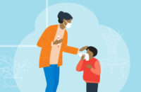 child with fever myths debunked