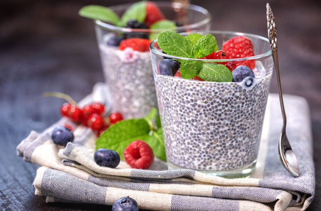 recipe for chia pudding