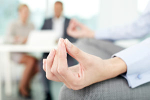 12 yoga poses you can do at work  health essentials from