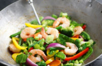 healthy stir fry asian food
