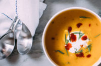 Recipe: Curried Squash and Sweet Potato Soup