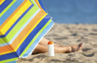 What's Better at the Beach: Sunscreen or an Umbrella?
