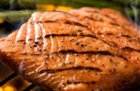 salmon, grilled fish, grilled salmon, heart healthy recipes, omega-3, protein, grilling recipes