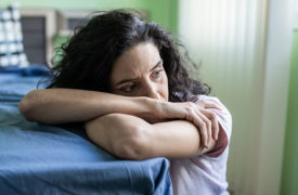woman experiencing sadness and depression