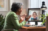 video chat with grandma