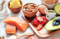 variety of protein and fatty foods for adkins diet