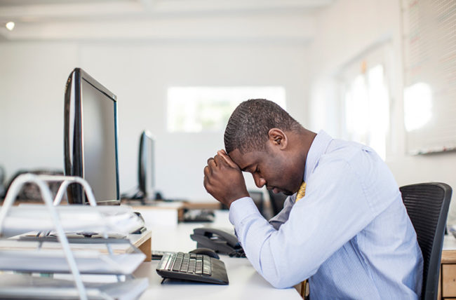Stressed at Work? You May Have a Higher Risk of Stroke