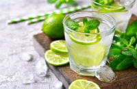 lime drink lime water sun