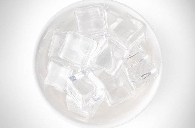 facial icing, icing, ice packs, inflammation, decrease inflammation, muscle relief
