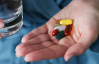 taking vitamins and supplements