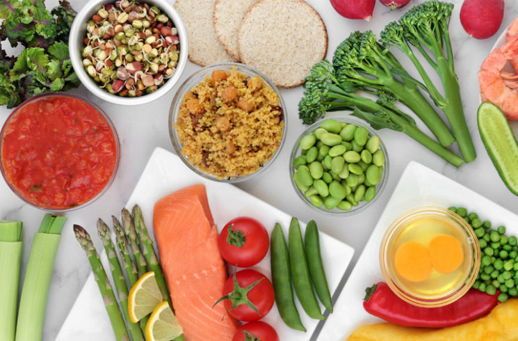 low glycemic diet healthy foods
